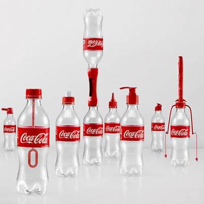 可口可樂空瓶的 16 種玩法