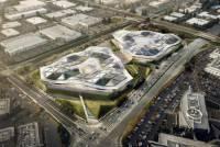 NVIDIA 終於要蓋新家了,不過外觀好像兩個三角飯糰...?
