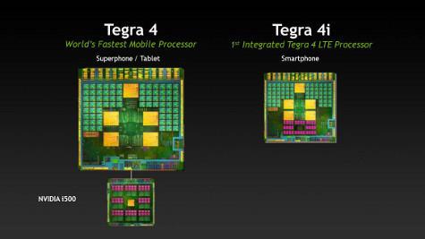 NVIDIA 首款整合 LTE 基頻數據機的應用處理器 Tegra 4i