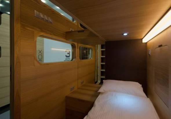 體驗膠囊旅館的樂趣,Sleepbox Pods