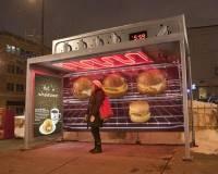 公車一直等不到就去吃顆漢堡吧