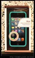 軟Q彈牙又防滑的好護框 Luxa2 ACE iPhone 5 保護框