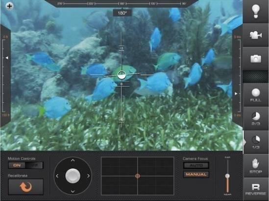 紅包大豐收?買部 iPad 操控潛水艇吧!