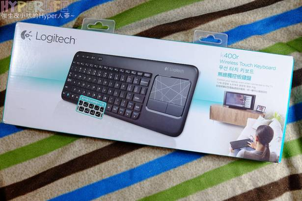 「開箱」Logitech羅技K400R,同場加映K360R無線鍵盤比較推薦