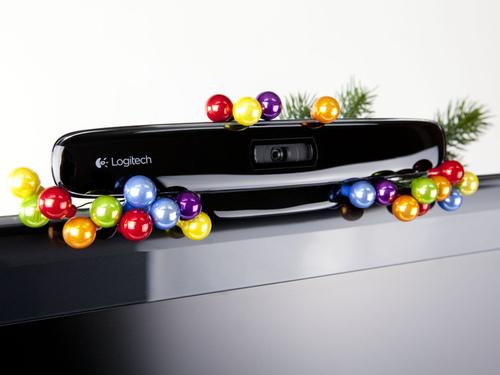 羅技HD網路攝影機For TV 高畫質視訊Skype拜年新玩法