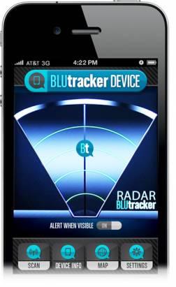 BluTracker 藍牙定位,可以定位到800米內的裝置