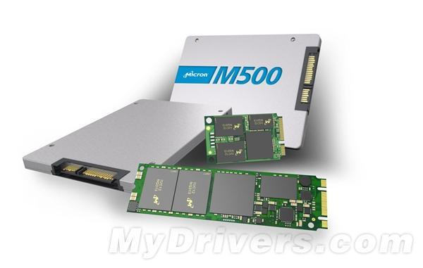 美光發布新一代固態式硬碟:M500