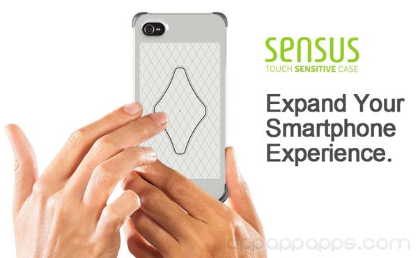 CES 2013:讓 iPhone 背面側面都能觸控的 Sensus 保護套