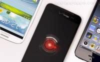 HTC Droid DNA 的全高清螢幕跟各大手機的大比拼