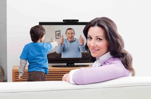 羅技創新推出客廳專用Skype 電視視訊通話裝置