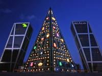 宅指數爆表的遊戲主題聖誕樹