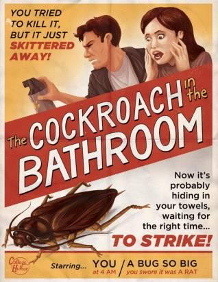 比被殺人魔追殺還要驚悚的現實版恐怖片海報