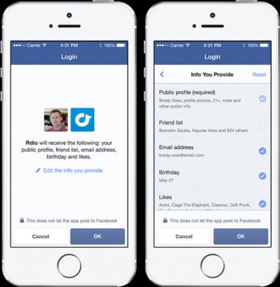 臉書公佈「匿名登入」模式,玩第三方應用程式將不必擔心個資外洩問題...