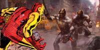 當超級英雄真人角色「還原」成漫畫角色時…