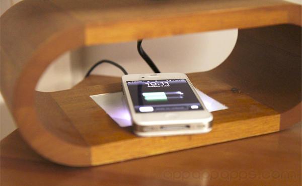 Apple最新專利展示iPhone/iPad無線充電最完美夢想, 何時能推出?