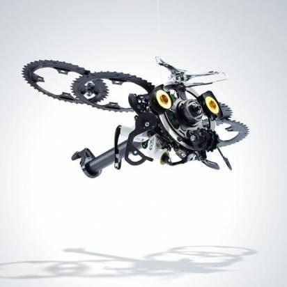 SRAM邀多位藝術家創作,自行車零件變身驚人藝術品