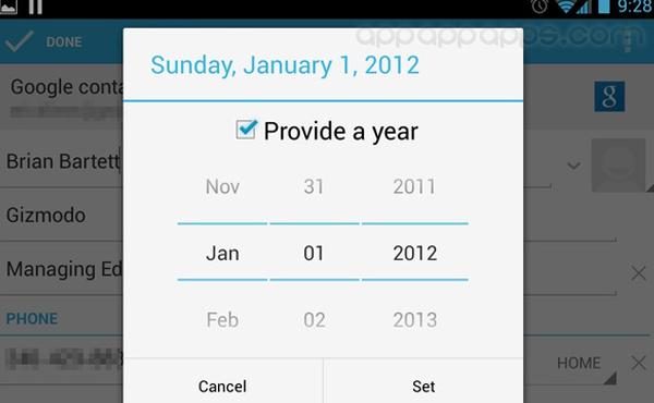 Android 4.2缺少一個重要內容: 整個12月竟然不見了