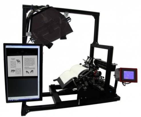 世界上最快的書籍掃描系統