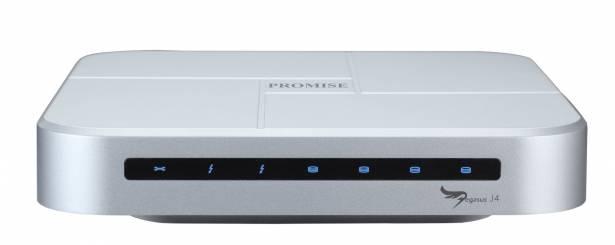 最多支援 4 顆 2.5 吋硬碟,喬鼎 Pegasus J4 Thunderbolt 外接儲存上市