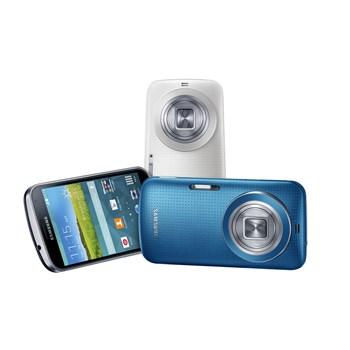 改以與 S5 相同的點點風設計,三星發表 Galaxy K Zoom 相機手機