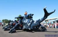 花11年完成的巨大甲蟲機器人