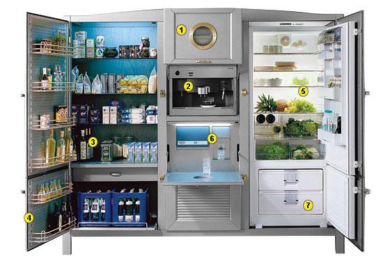 超海派豪華電冰箱