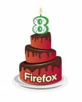 Firefox 八歲生日快樂!