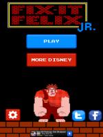 音樂畫面復古味,連難度都很復古味的免費 iOS app :Fix-it Felix Jr.
