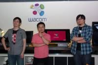 Wacom Cintiq 24HD touch 繪圖螢幕導入多點觸控,透過觸控與手勢減少繪圖者仰賴鍵盤快捷