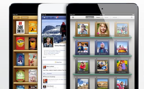 iPad mini公佈: 7.9吋螢幕, A5處理器, LTE連線及其他詳情