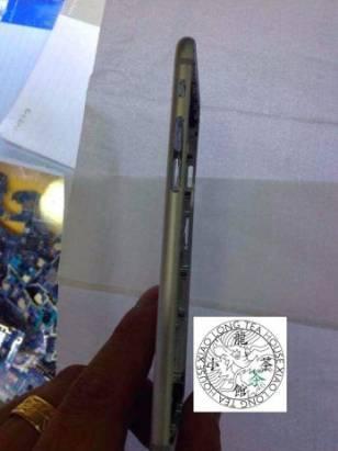 iPhone 6 金色版實機底殼出現: Apple 標誌真的有驚喜?! [圖庫]