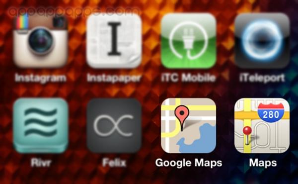 一按即安裝! iOS 6全 / iPhone 5 回復Google Maps地圖