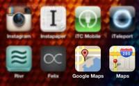 一按即安裝 iOS 6全 iPhone 5 回復Google Maps地圖