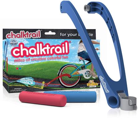 超三八的腳踏車小配件,Chalktrail 玩具粉筆
