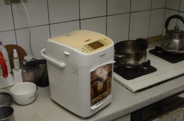 國際牌 Panasonic SD-BM103T 麵包機動手玩