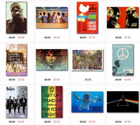 All Posters.com,一個瞬間提升居家品味的數位輸出網站