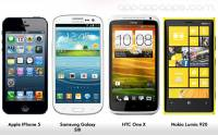 iPhone 5 vs Galaxy S III vs One X vs Lumia 920 大決戰