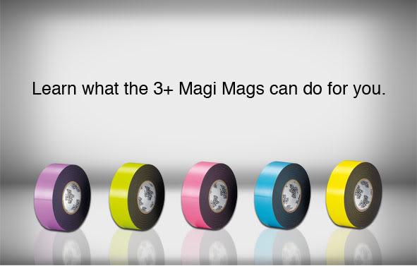 一個由磁鐵與膠帶開始的創意生活