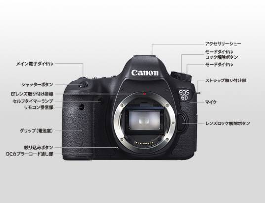 Canon 全新入門全幅機身 6D 登場,直接內建 WiFi 以及 GPS (更正:具備基礎防塵滴)