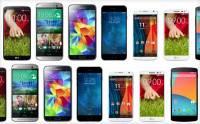 螢幕不再輸: iPhone 6 與各 Android 旗艦並排比 [圖庫]
