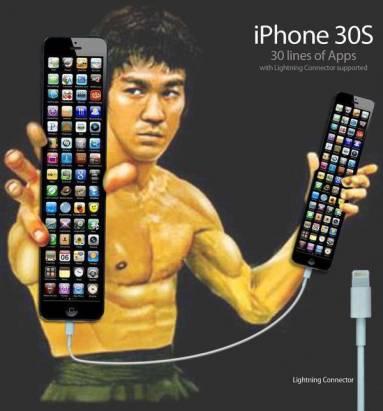 網路事件行銷案例小小研究:愈來愈長的iPhone,從4到2000再到無限……