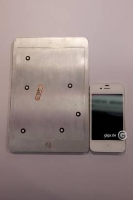 iPad mini完整樣版曝光, 確認7.85吋新設計 [圖庫]