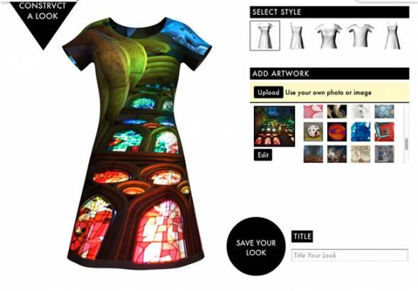我拍、我印故我穿的客製化列印服裝app Constrvct