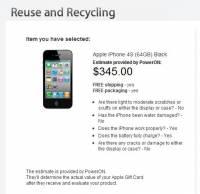 蘋果回收iPhone價目表出爐,最高以345美元來回收你的iPhone 4S