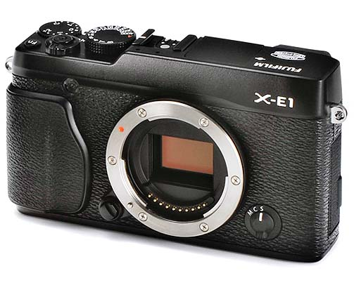 富士 X  家族可換鏡頭相機 XE-1 曝光,廢除光學觀景窗會變便宜嗎?