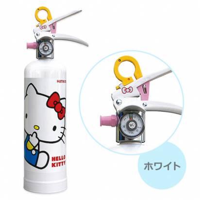 什麼都能聯名!擁有精品質感的Hello Kitty滅火器