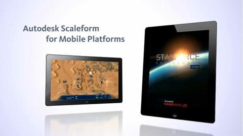 專為手持遊戲而生的 Autodesk Scaleform Mobile 不只是中介軟體,還是 2D 引擎