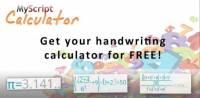 [Android App] 有趣易用的手寫計數機 MyScript Calculator
