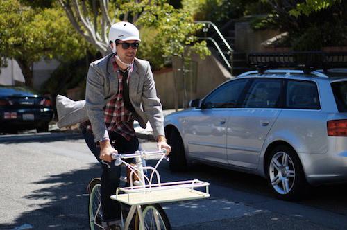 看不到電池的Faraday Porteur讓你上坡爽爽騎