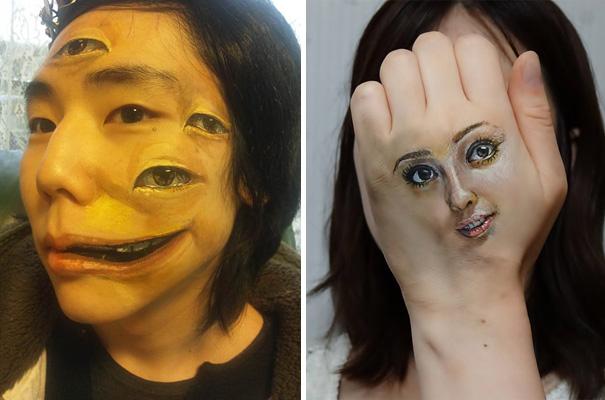 有點可怕的人體彩繪